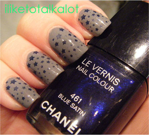 konad m84 chanel blue satin 461 2