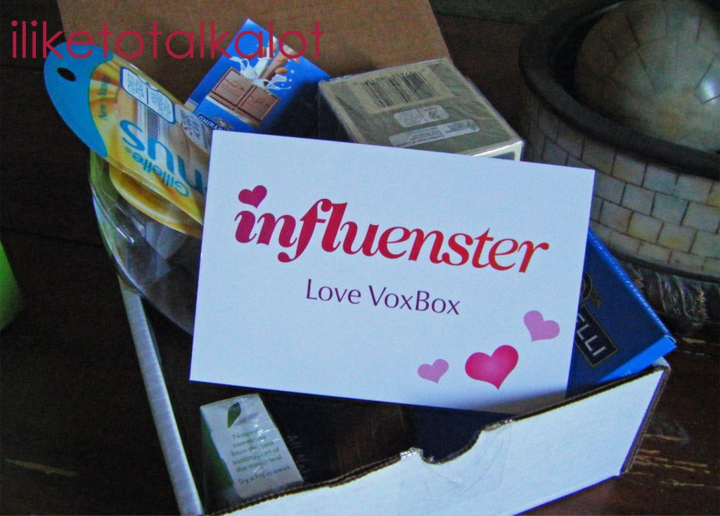 influenster love vox box contents box