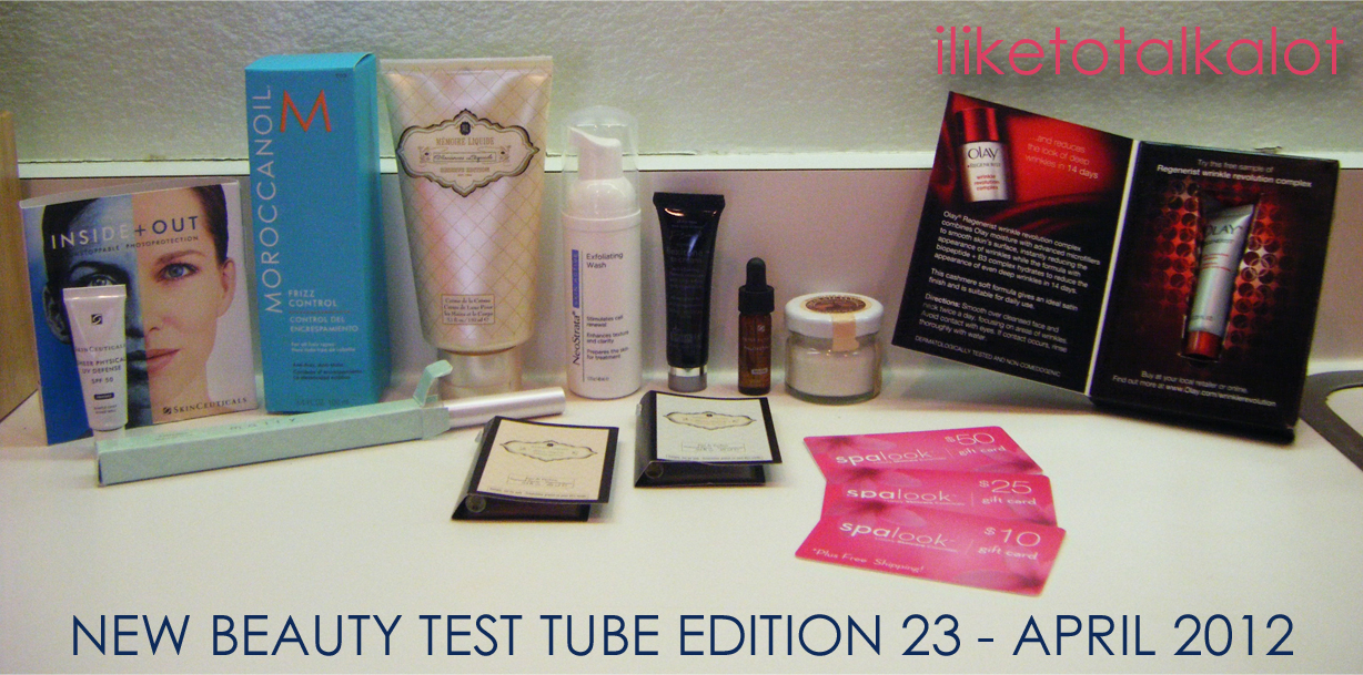 new beauty test tube edition 23 END PHOTO