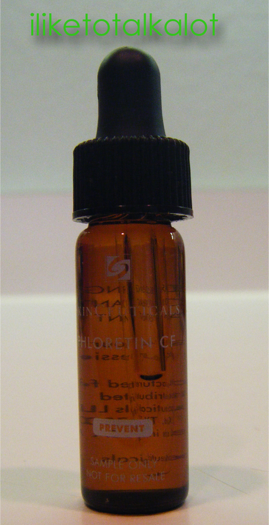 new beauty test tube skinceuticals serum phloretin