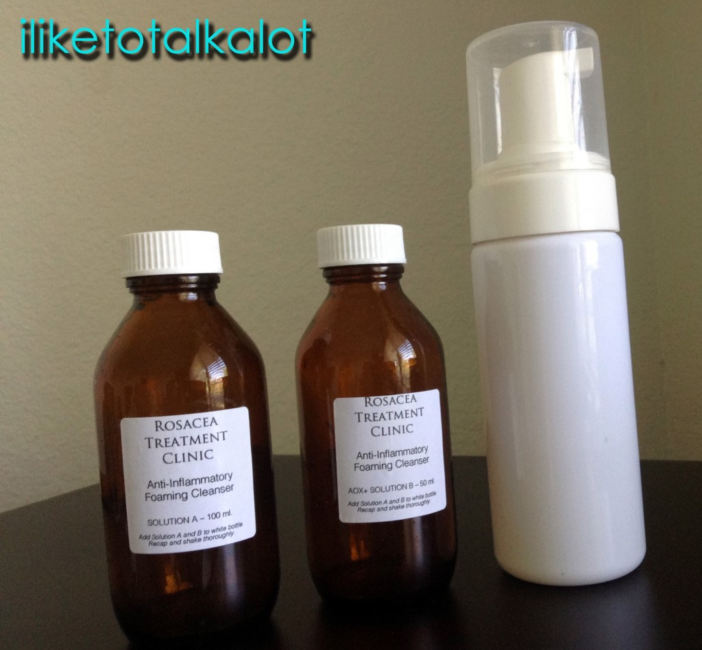 rosacea treatment clinic cleanser