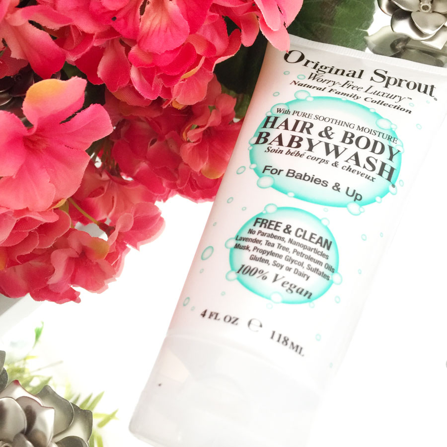 Original Sprout hair and body wash review by iliketotalkblog