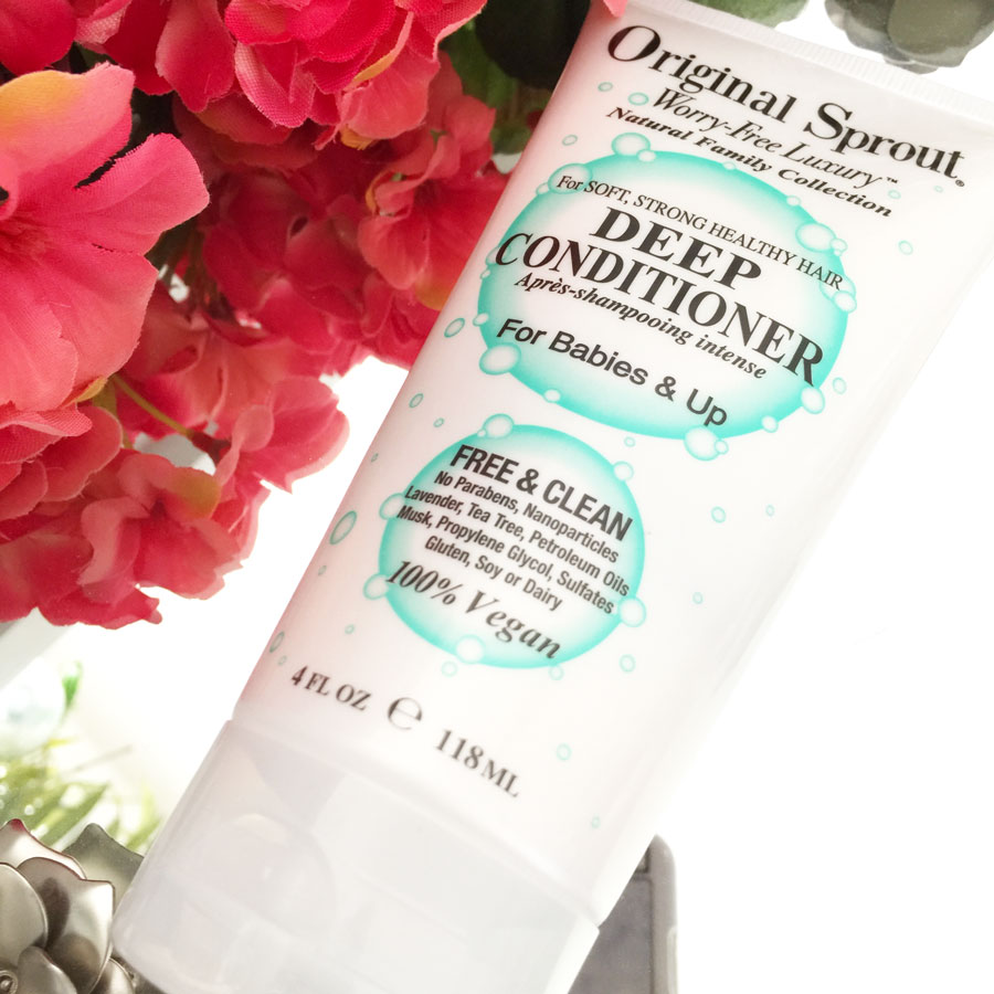 Original Sprout deep conditioner review by iliketotalkblog