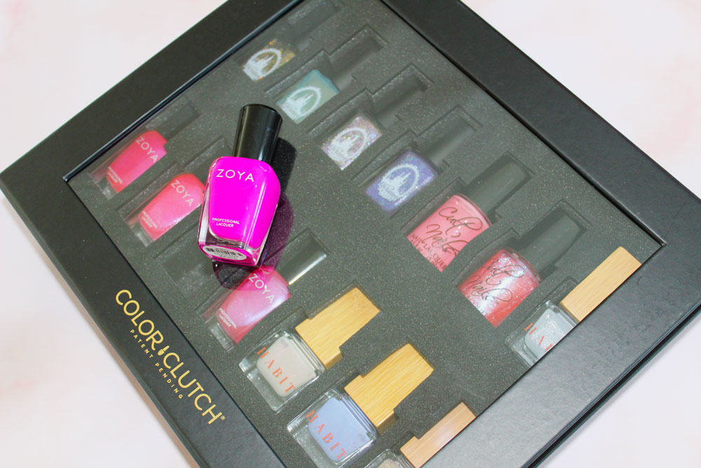 Organize Your Polish With Color Clutch